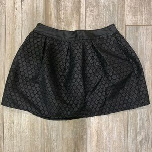 Francesca's Collections Skirts - BLACK SKIRT